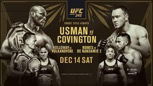 UFC245